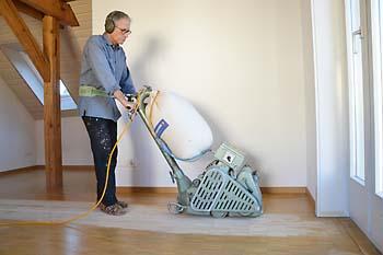 WIe miete ich eine Bodenschleifmaschine